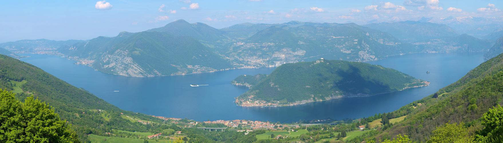 Panorama Photo - Panorama: Lago d'Iseo